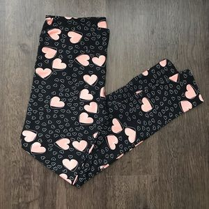 Legging Depot Heart Print Leggings